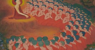 People who understand the truth decide to become a monk. There are so many following the Buddha's way.